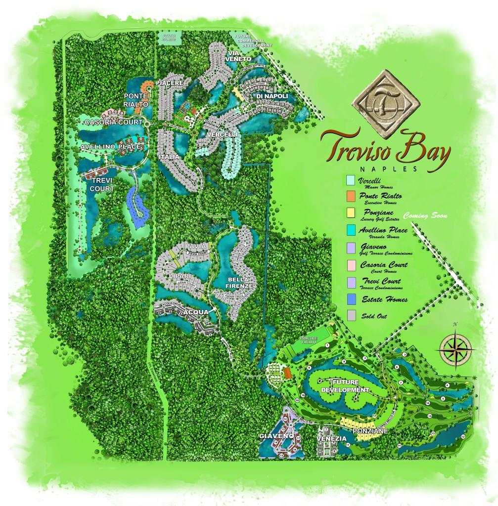 Treviso Bay Site Plan