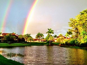 villa double rainbow